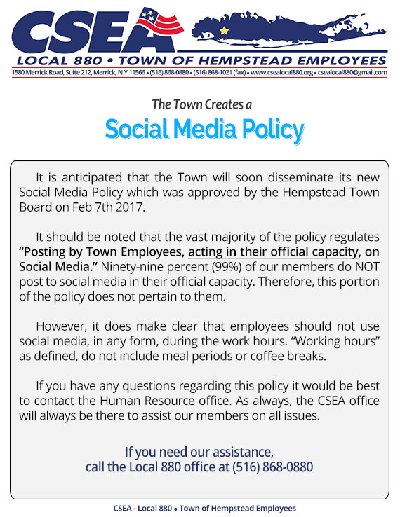 employee social media policy template - social media policy social media policy template for